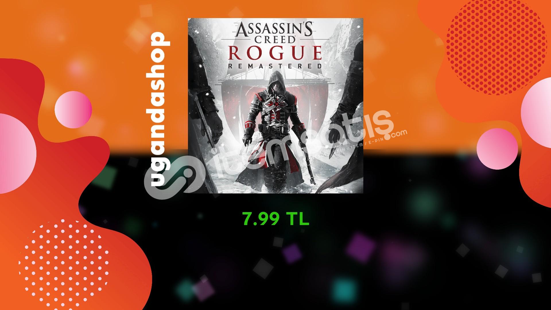 Assassin's Creed Rogue Online Uplay Hesap + Garanti