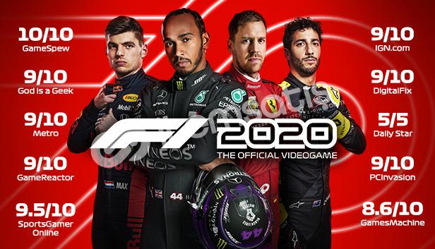 F1 2020 + '9.9tl' + OTOMATİK TESLİMAT. + GARANTİ.!!