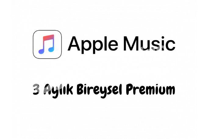 3 Aylık Apple Music Bireysel Premium Hesap - Kişiye Özel
