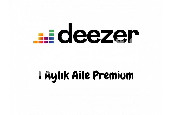 1 Aylık Deezer Aile Premium Hesabı - Kişiye Özel