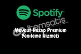 Mevcut Spotify Hesabınızın 1 Ay Yükseltme Hizmeti