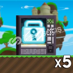 Growtopia - 5 Diamond Lock
