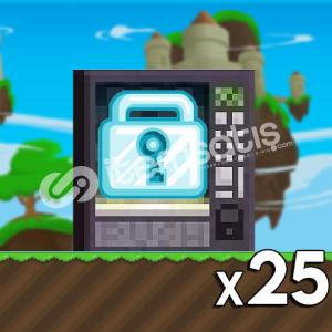 Growtopia - 25 Diamond Lock