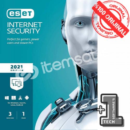 ESET INTERNET SECURITY 3Pc 1 Yıl