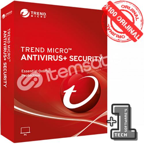 Trend Micro ANTIVIRUS PLUS 3 PC 1 YIL