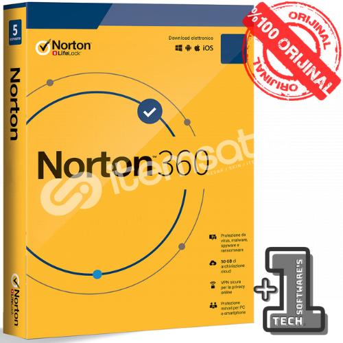 Norton 360 1 PC 3 AY (90 Gün)