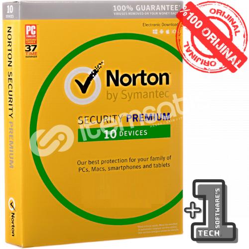 Norton Security Premium 10 Pc 3 AY (90 Gün)
