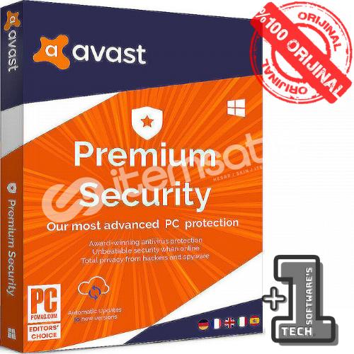 AVAST PREMIUM SECURITY MultiDevice 1 YIL