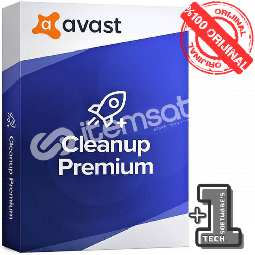 AVAST CLEANUP Premium 1 PC 1 YIL