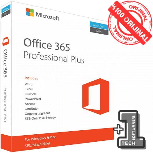 Office 365 Dijital Hesap 5 Kullanıcı