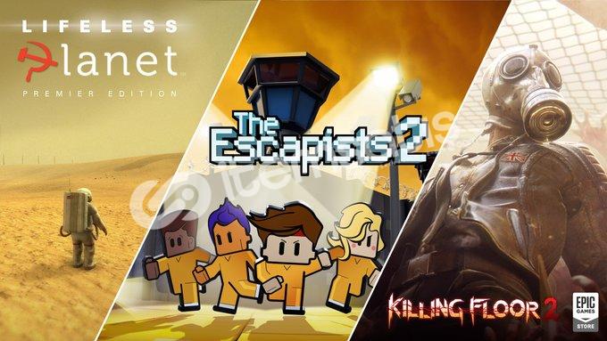 Killing Floor 2, The Escapists 2, The Lifeless Planet Hesabı