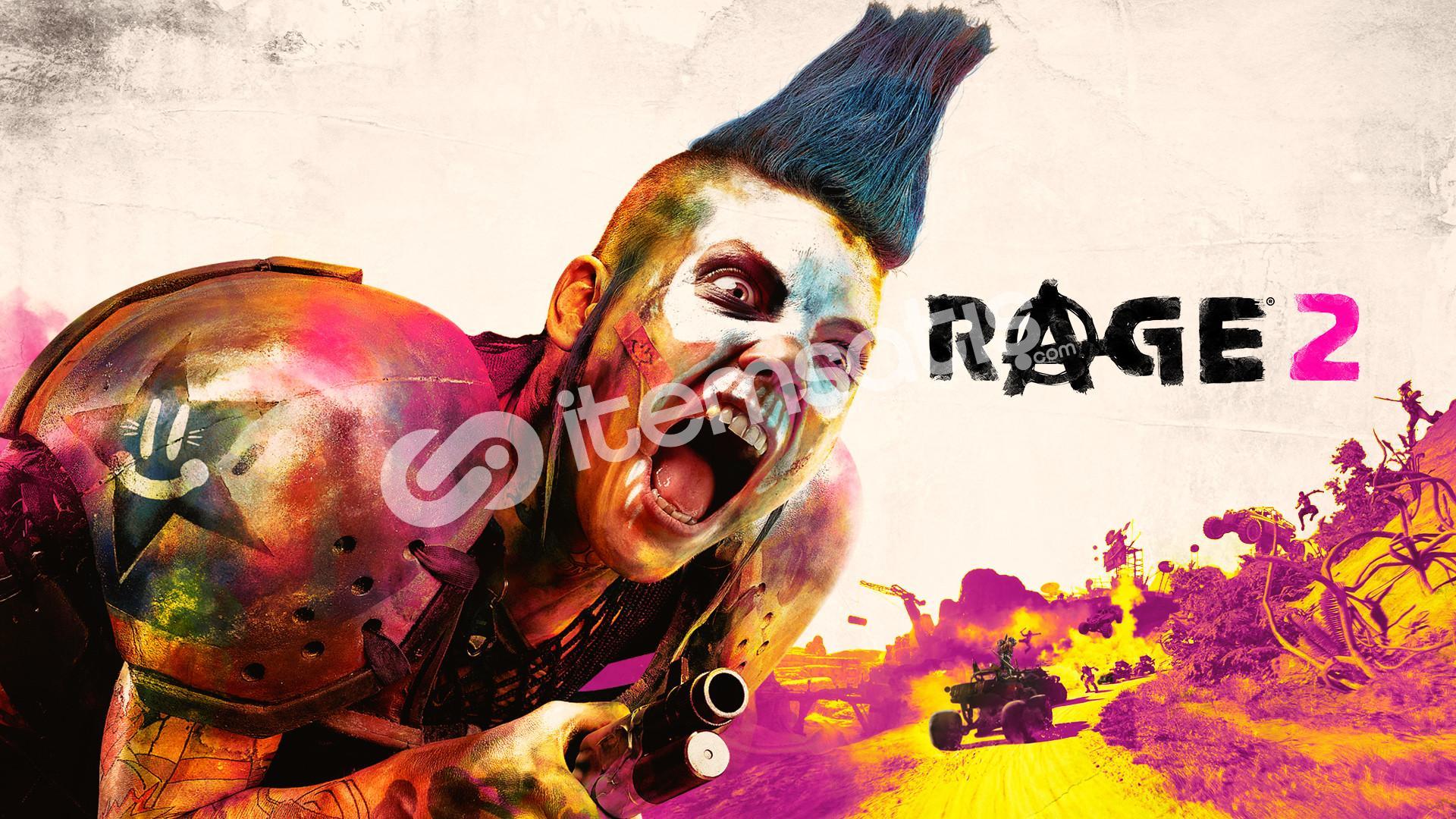 Rage 2 Epic Games Hesabı