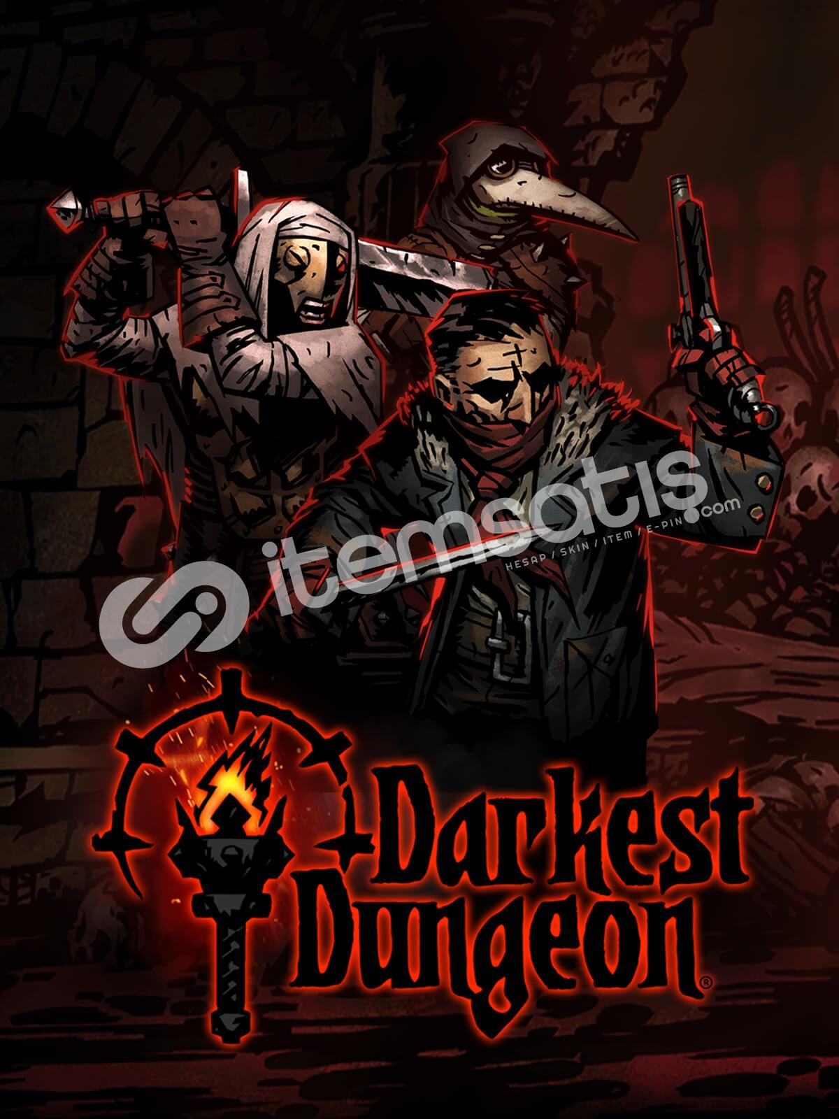 Darkest Dungeon Epic Games Hesabı