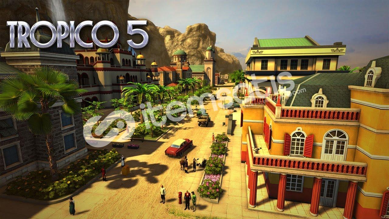 Tropico 5 Epic Games Hesabı