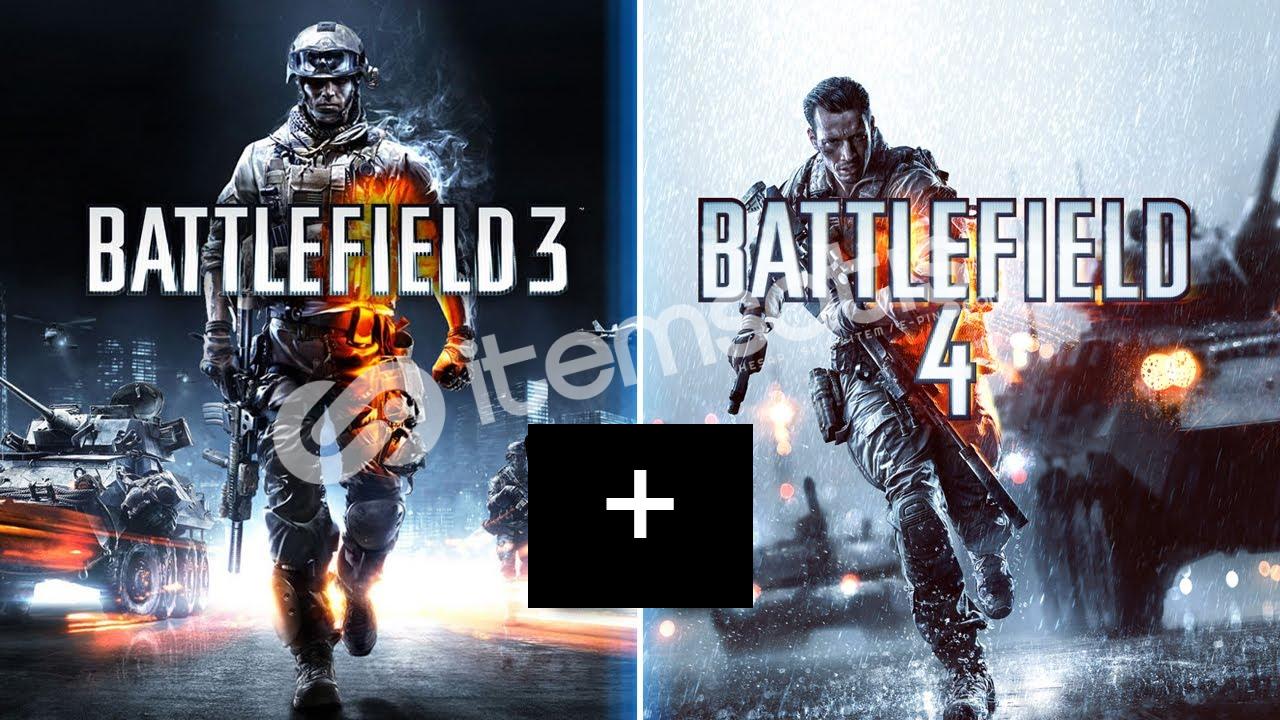 Battlefield 4 + Battlefield 3