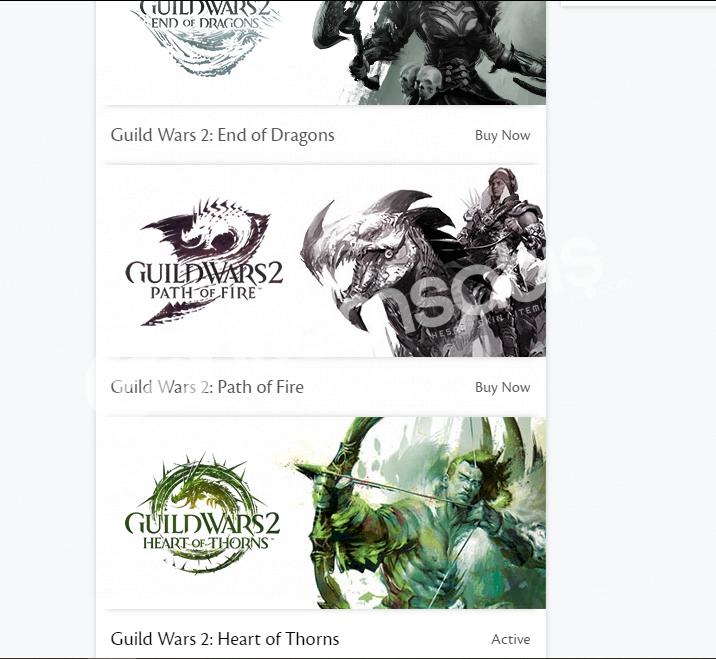 Guild Wars 2 HOT'lu hesap