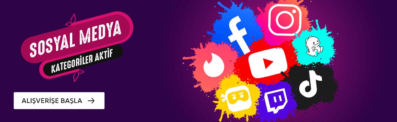 Sosyal Medya Beğeni Hesap Takipçi Kategorileri